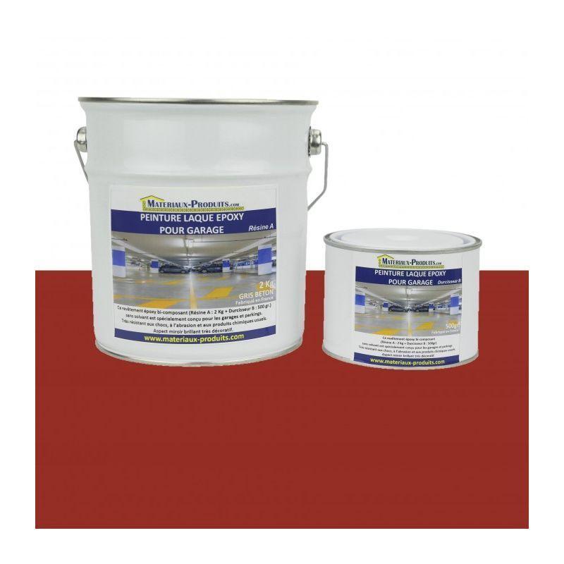 Peinture Laque Epoxy Pour Garage Rouge Brique 2 5 Kg Rouge Brique Matpro Laminate Flooring Lacquer Paint Basement Remodeling