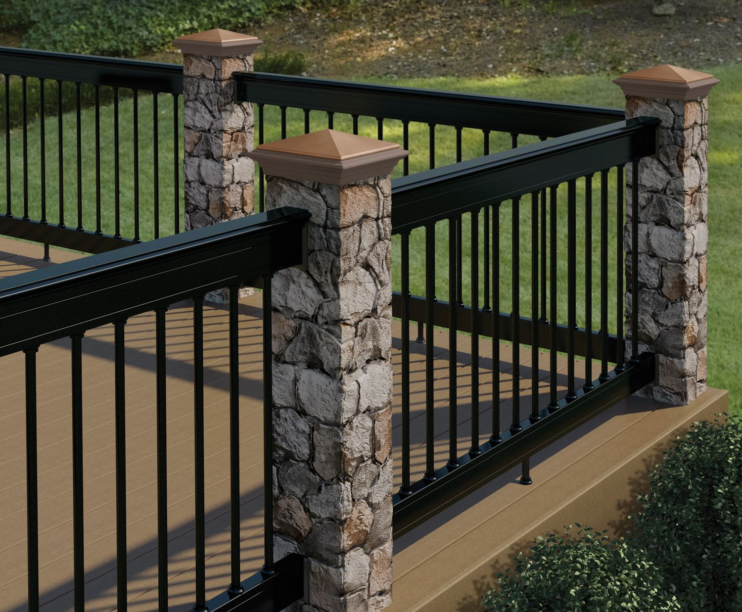 Redesigned Deckorators Postcover Has Look And Feel Of Real Masonry Perfect For Decks Fence