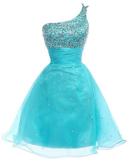 7dbfe021a70 Real Made Light Blue Homecoming Dresses