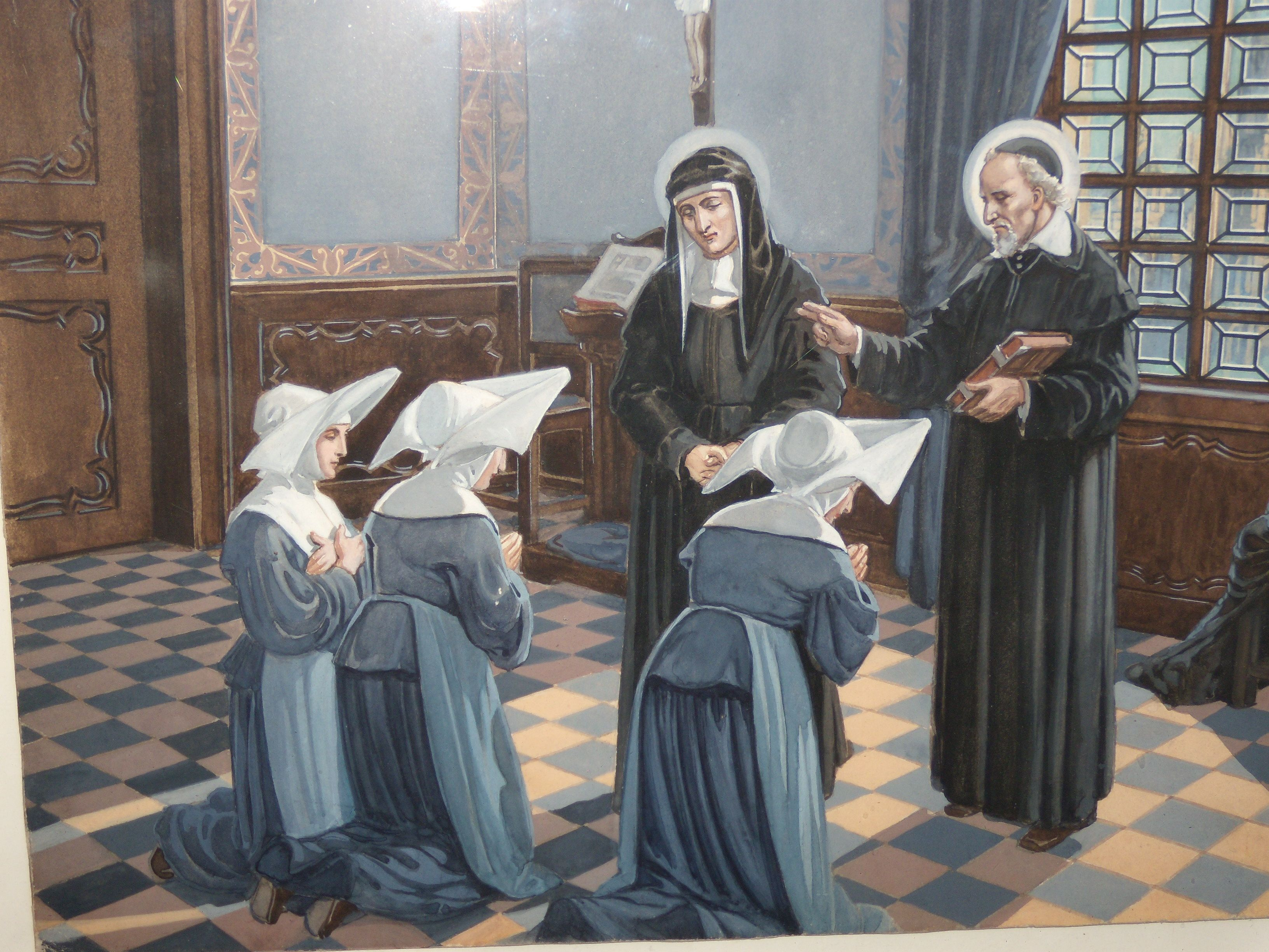Happy anniversary! Nov. 29, 2013, marks 380 years since the foundation of the Daughters of Charity. Established by St. Vincent de Paul and St. Louise de Marillac in Paris in 1633, the Company now serves in more than 90 countries.