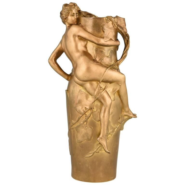 Nude Woman Vase