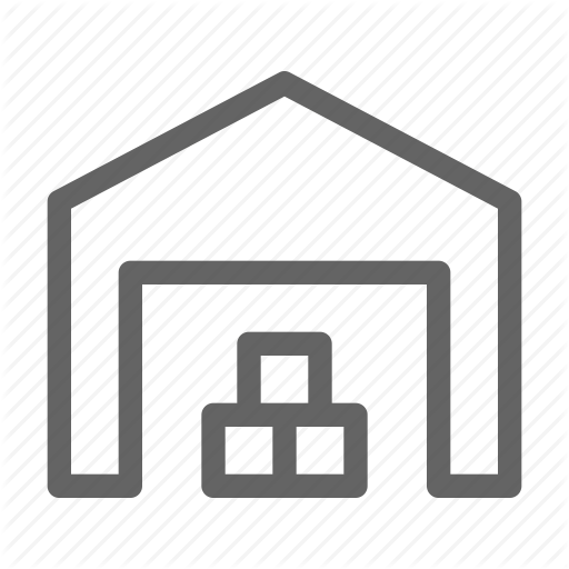 Storage Storehouse Warehouse Industry Icon Download On Iconfinder Icon Line Icon Warehouse