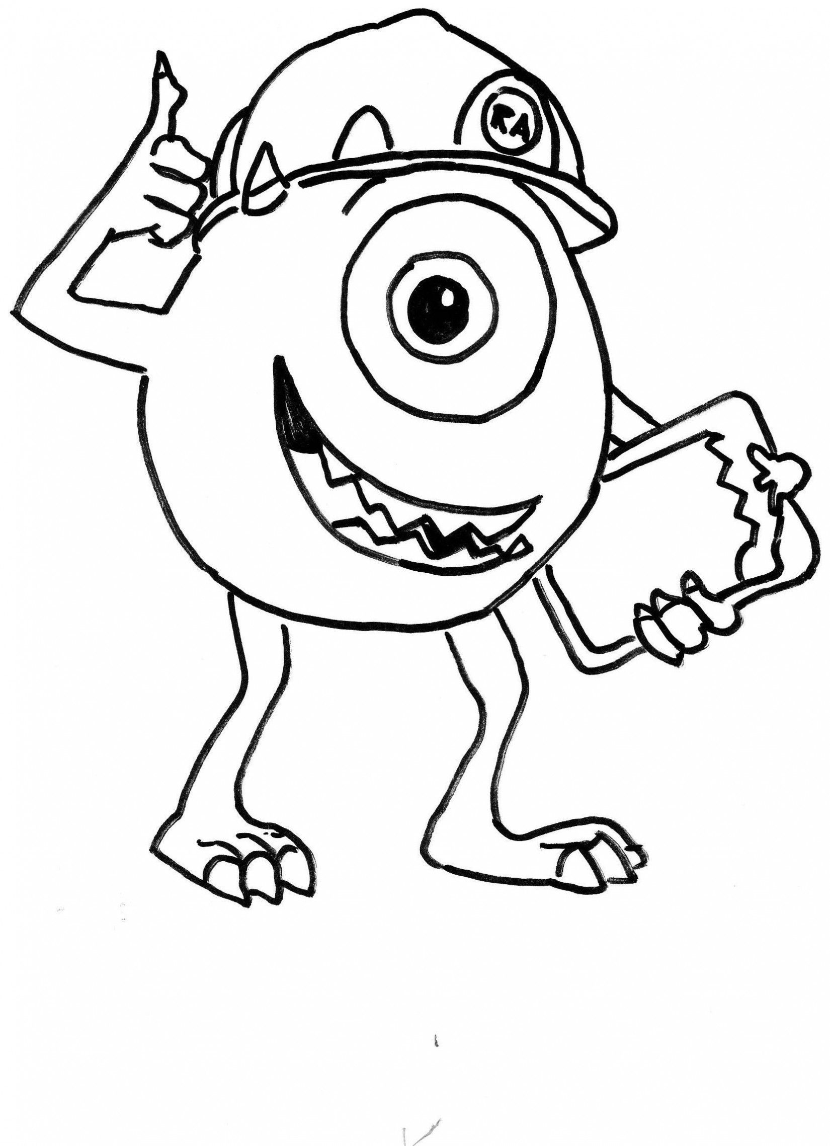 Cartoon Coloring Sheets Kids Pages