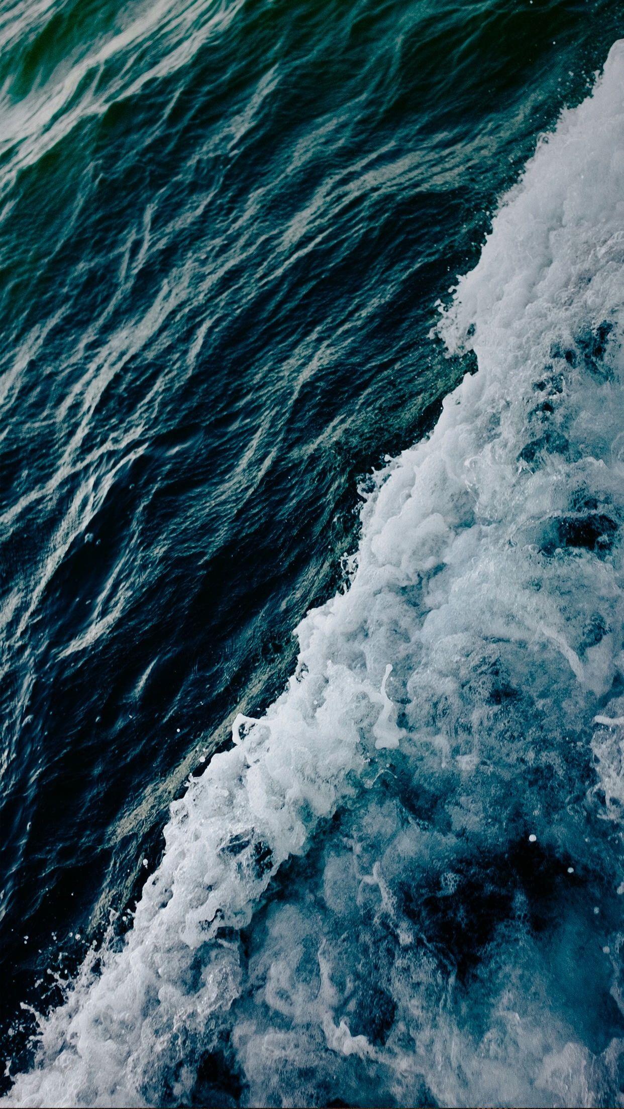 Water Sea Waves 1080p Wallpaper Hdwallpaper Desktop Ocean