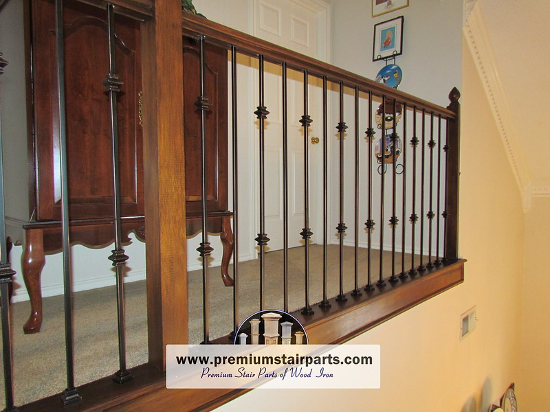 Iron Balusters Iron Stair Parts Parts For Stair Railing 63 In 2020 Wrought Iron Stair Railing Indoor Railing Iron Balusters