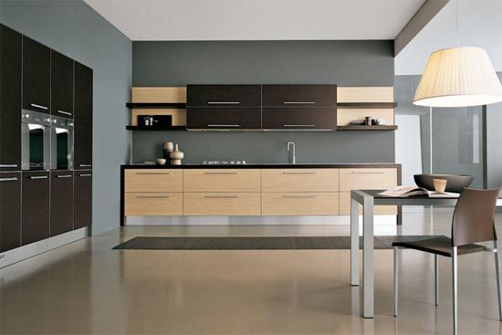 Contemporary Kitchen One Chair And Tables  Kitchen  Pinterest Classy Modern Kitchen Design Photos Decorating Inspiration