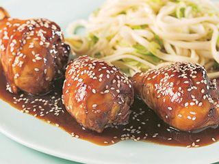 Pilons De Poulet Sauce General Tao Volailles Pinterest Pilon