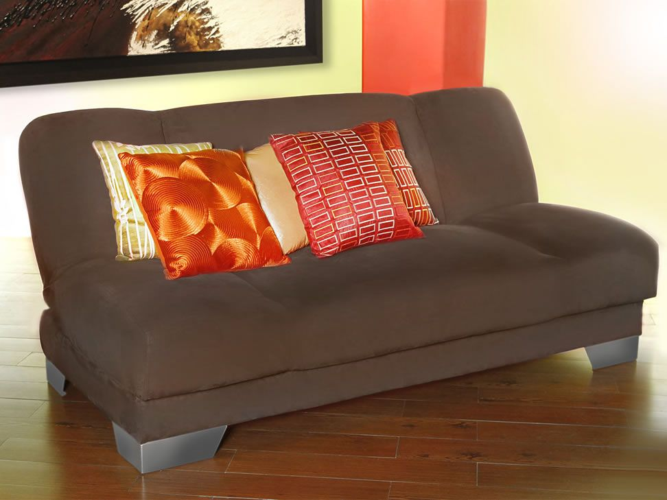 Malbec sof cama contempor neo chocolate liverpool es for Sofa cama monterrey