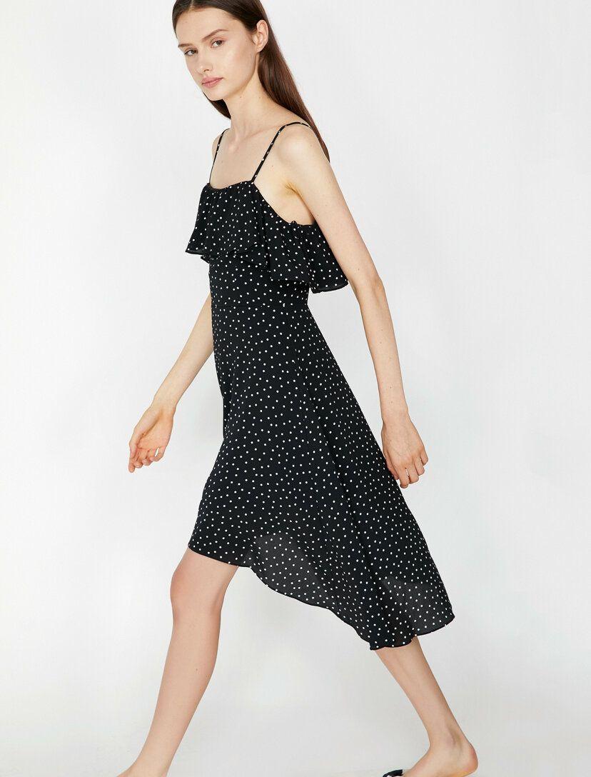 Puantiyeli Elbise Elbise Cicekli Elbise Puantiyeli Elbise