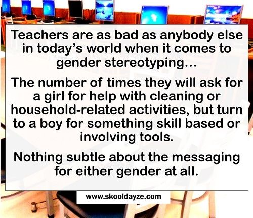 Gender Stereotypes in the Classroom