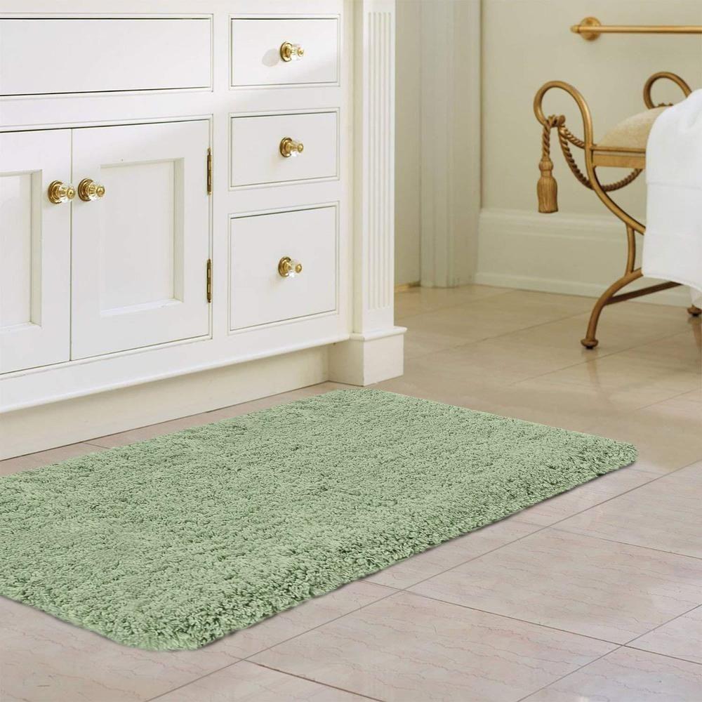 46++ Sage green bathroom rugs info