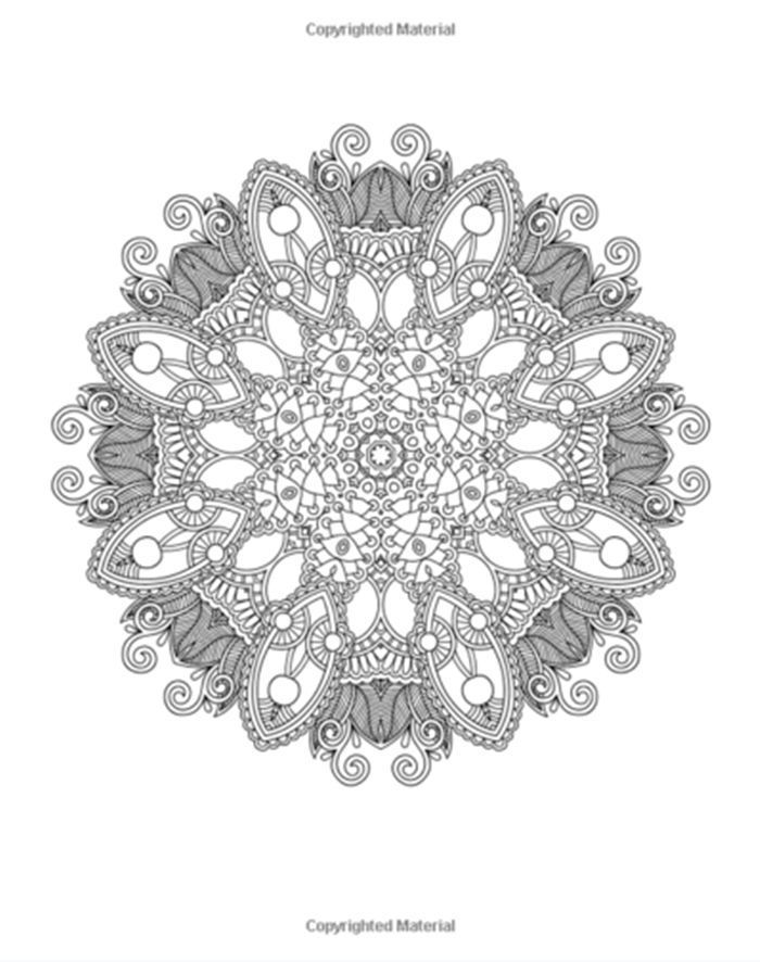 Coloring Pages Of Nature And Animals Fresh Coloring Pages Mandala Coloring Book Stres Animal Coloring Books Stress Relief Coloring Books Mandala Coloring Books