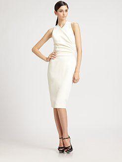 Ralph Lauren Collection - Wool Jeanette Dress