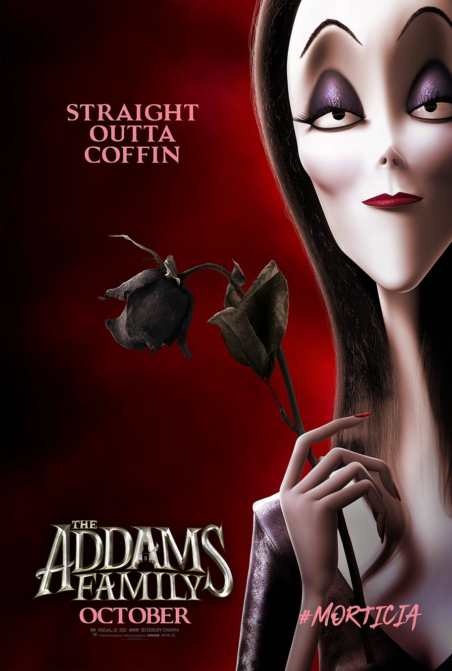 New Kooky Character Posters Introduce Us To The Addams Family Addams Family Movie Addams Family Poster Addams Family