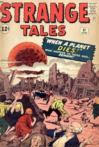 Strange Tales # 97 by Jack Kirby & Steve Ditko