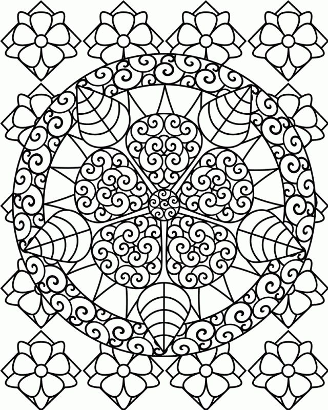Hard printable coloring pages printable difficult coloring pages az coloring pages