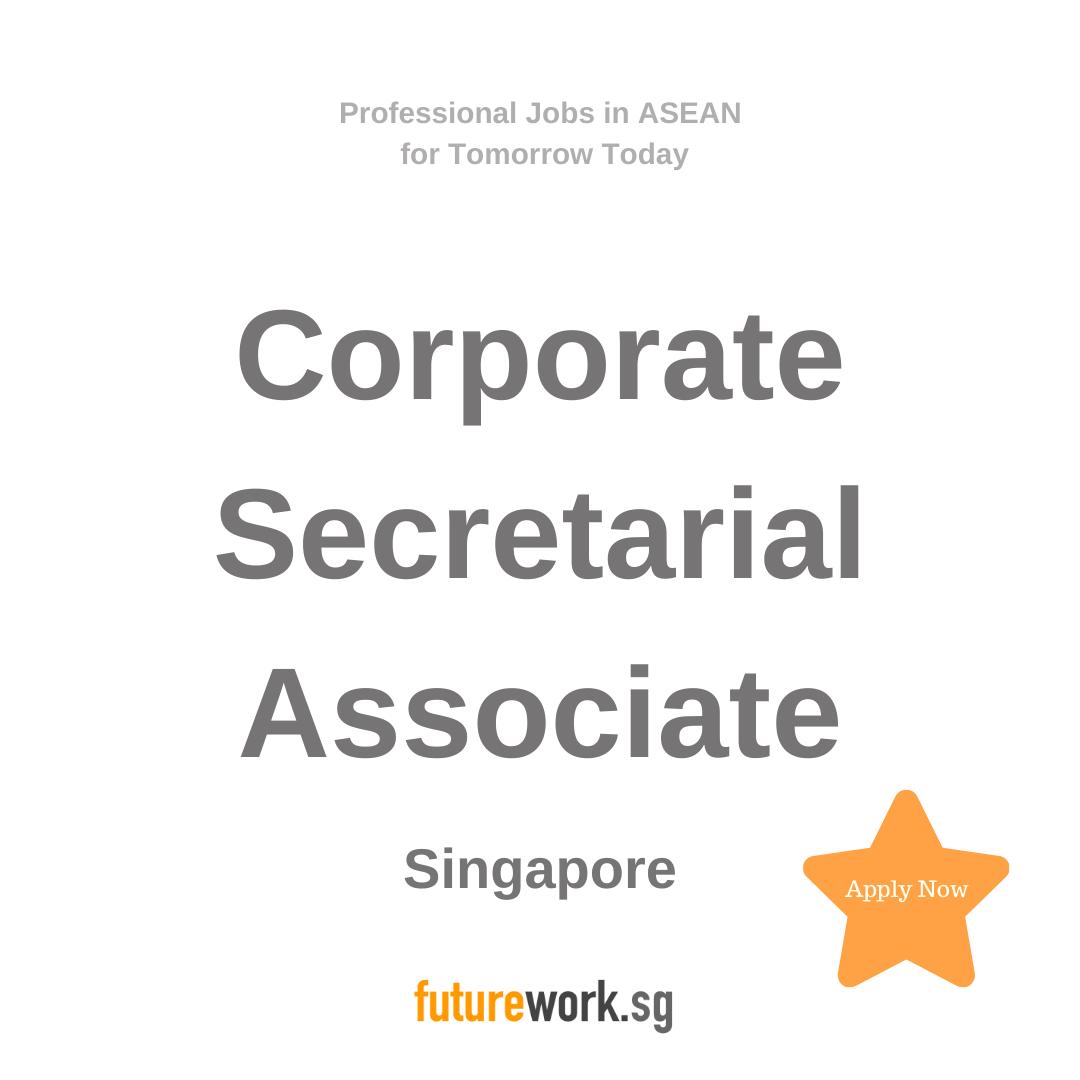 Corporate Secretarial Associate Consultant Corporate Services Tax As A Corporate Secretarial Associate Con Engagement Team Problem Solving Skills Corporate
