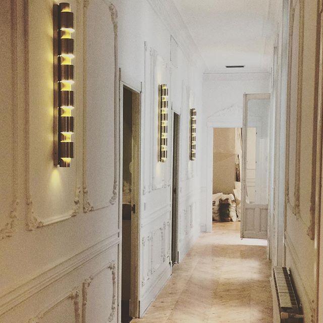 Apliques de pared para un piso en Madrid Diseo de BAO Proyectos