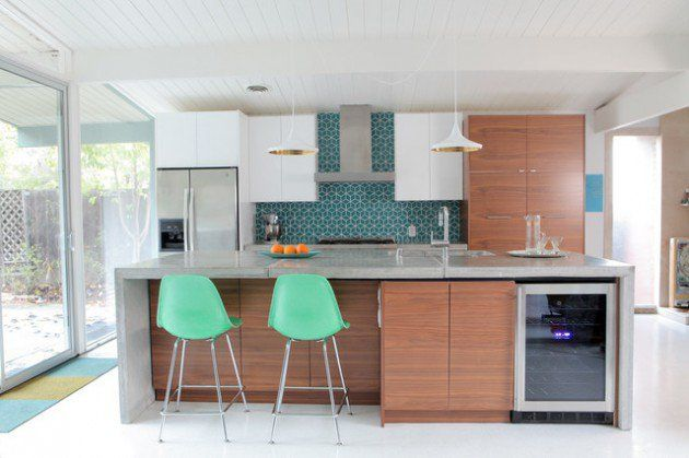 18 Remarkable Mid Century Modern Kitchen Designs For The Vintage