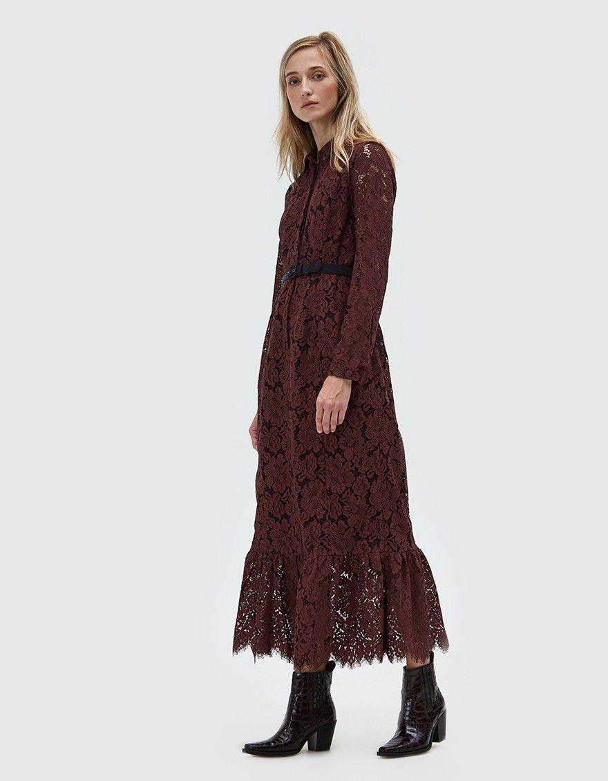 Ganni jerome lace maxi dress my fair pinterest lace maxi