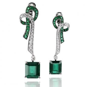 Clef de Sol Earrings by Adler:
