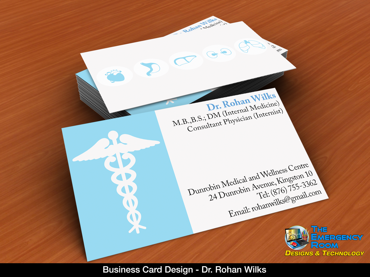 Who said a doctor\'s business card had to be boring? Check out the ...