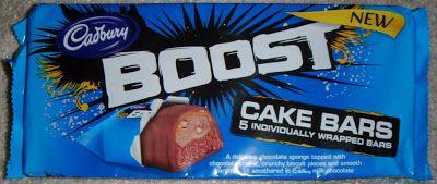 FOODSTUFF FINDS: Cadbury Boost Cake Bars (Tesco) [By @Cinabar]