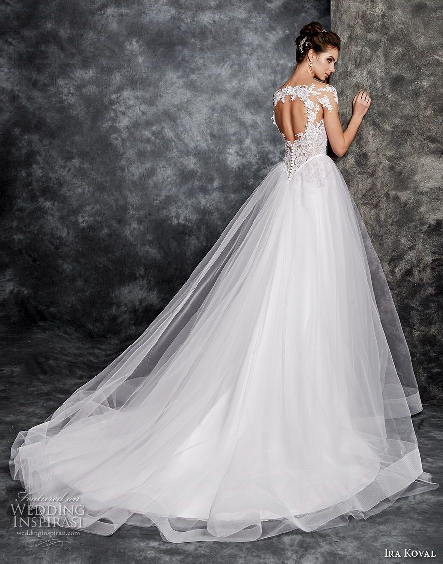 Ira koval wedding dresses tulle skirts romantic and wedding