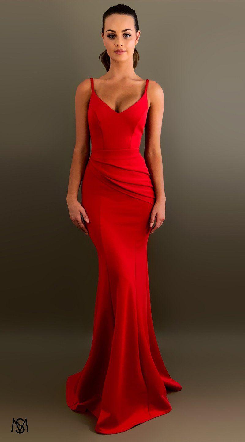 dfa4e0b860d Red IV - Formal Prom Dress by STUDIO MINC