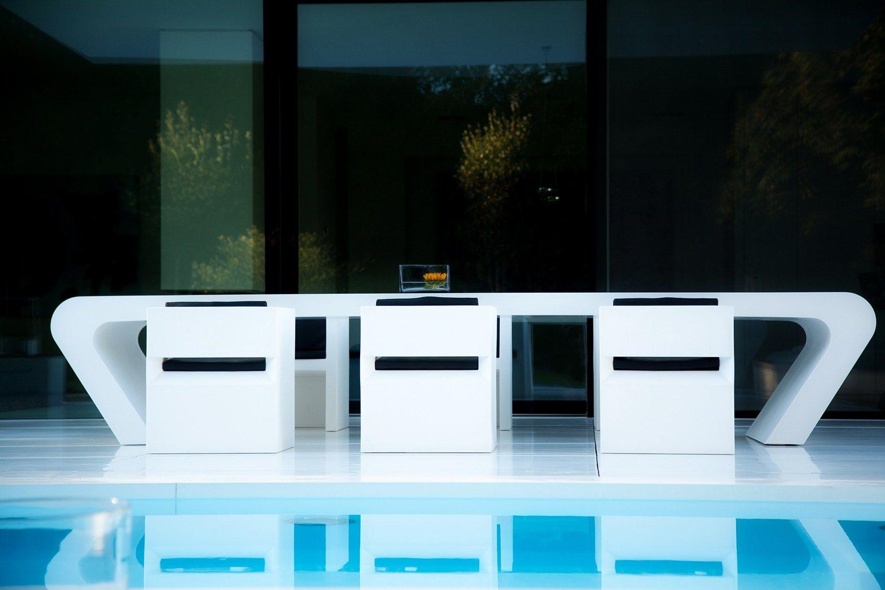 Le Superfici Hi Macs Per Outdoor Casa Dreer Estetica Minimalista  # Muebles Hi Macs