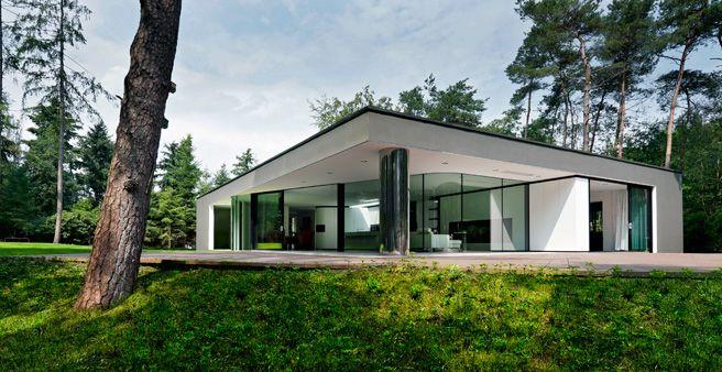 Villa im wald architecture i love coole architektur