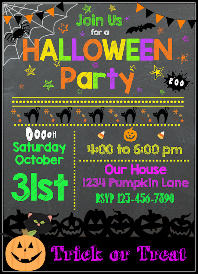 photo about Halloween Invites Printable named Cost-free Halloween Printables Halloween Occasion inside of 2019