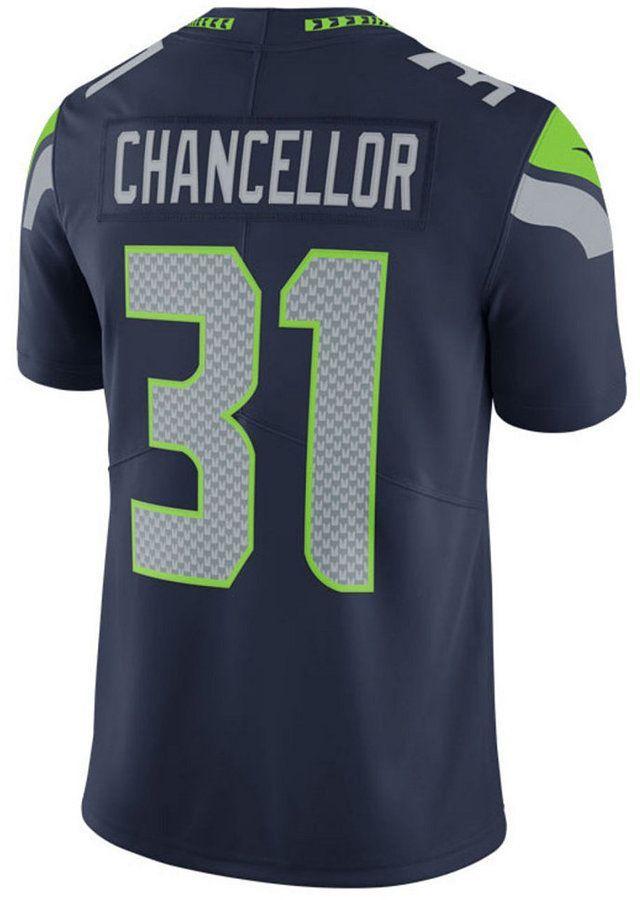Nike Men s Kam Chancellor Seattle Seahawks Vapor Untouchable Limited Jersey b4bc79369