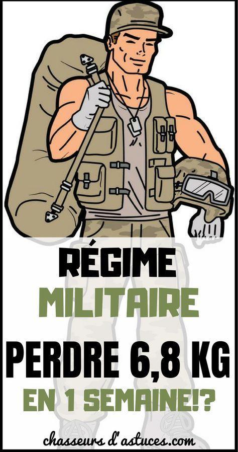 RÉGIME MILITAIRE : PERDRE 6,8 KG EN 1 SEMAINE !? | Régime