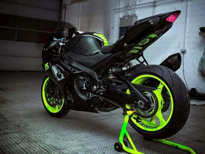 Suzuki Gsxr  Neon Green And Black