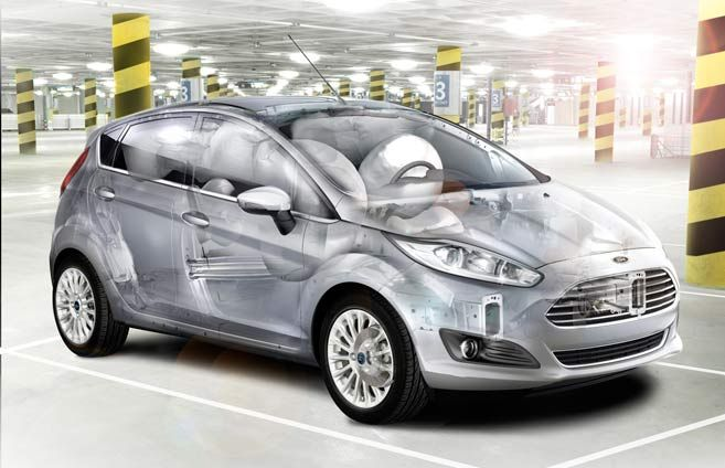 Standard Airbag Protection#FordFiesta #NorthCountyFord  http://www.north-county-ford.com/search/New+Ford+Fiesta+tmM