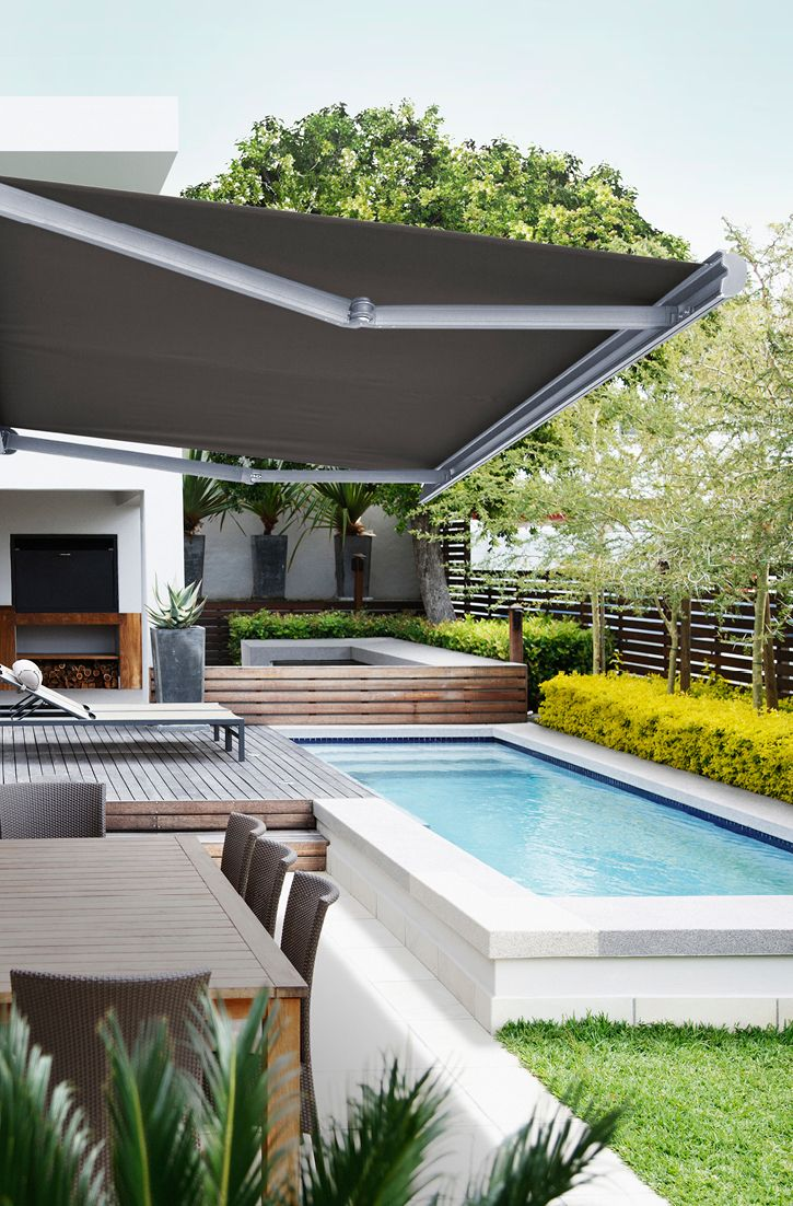Luxaflex Awnings Where Form Meets Functions In 2020 Shade Sail Indoor Outdoor Awning