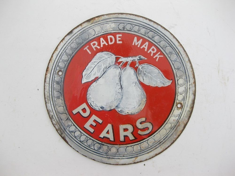 Pear/'s Soap  Metal Sign