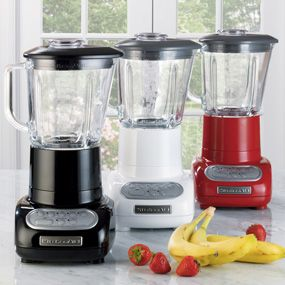 Kitchenaid 5 Speed Blender shop kitchenaid 5-speed blender with glass blender jar, ksb565 at