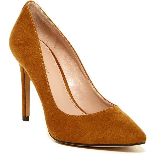 Heidi Pointed-Toe Patent Pumps bXt9u