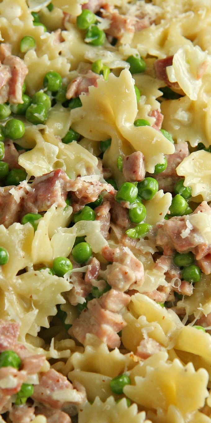Easy ham pasta casserole recipes