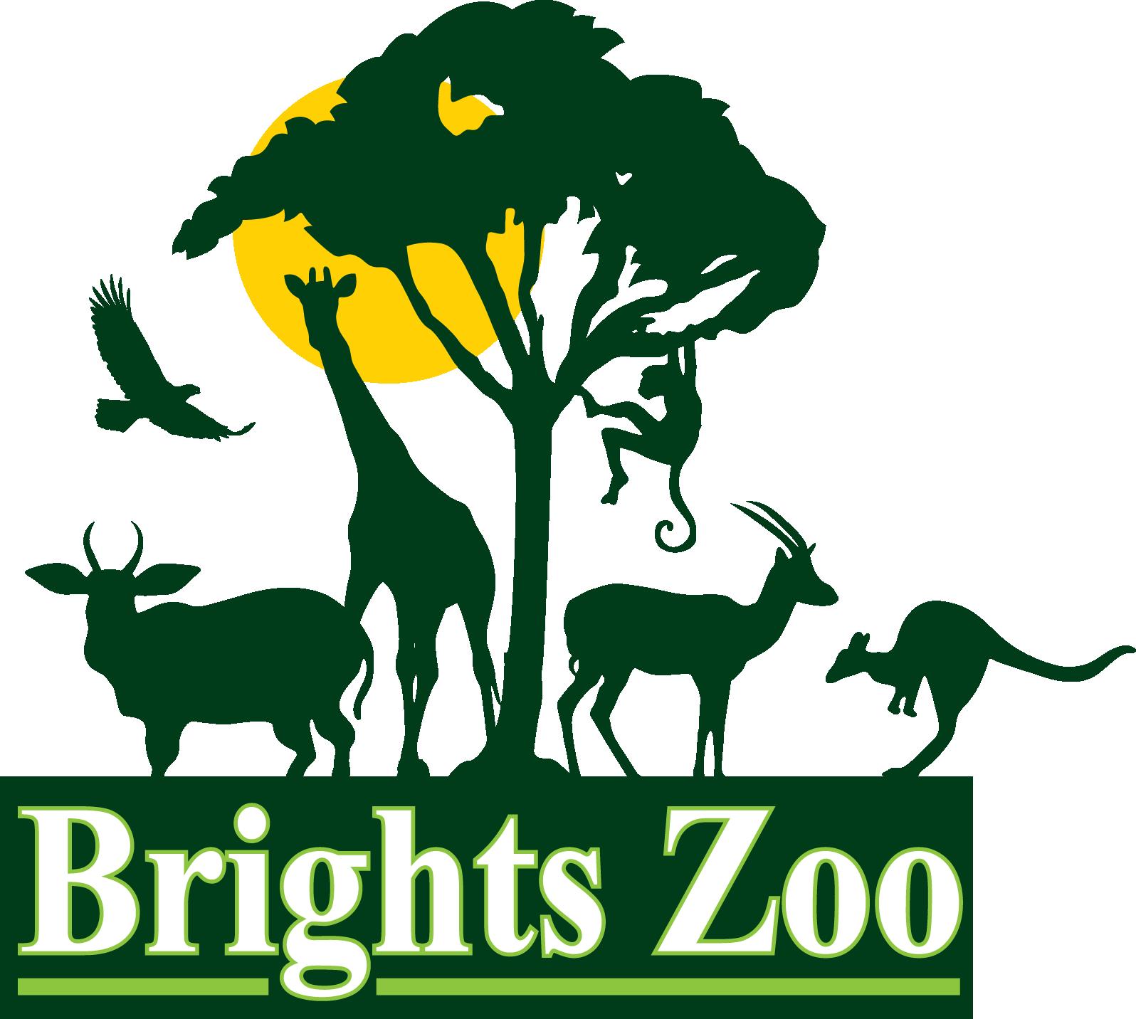 Brights Zoo Logo Zoo logo, Zoo, Animals