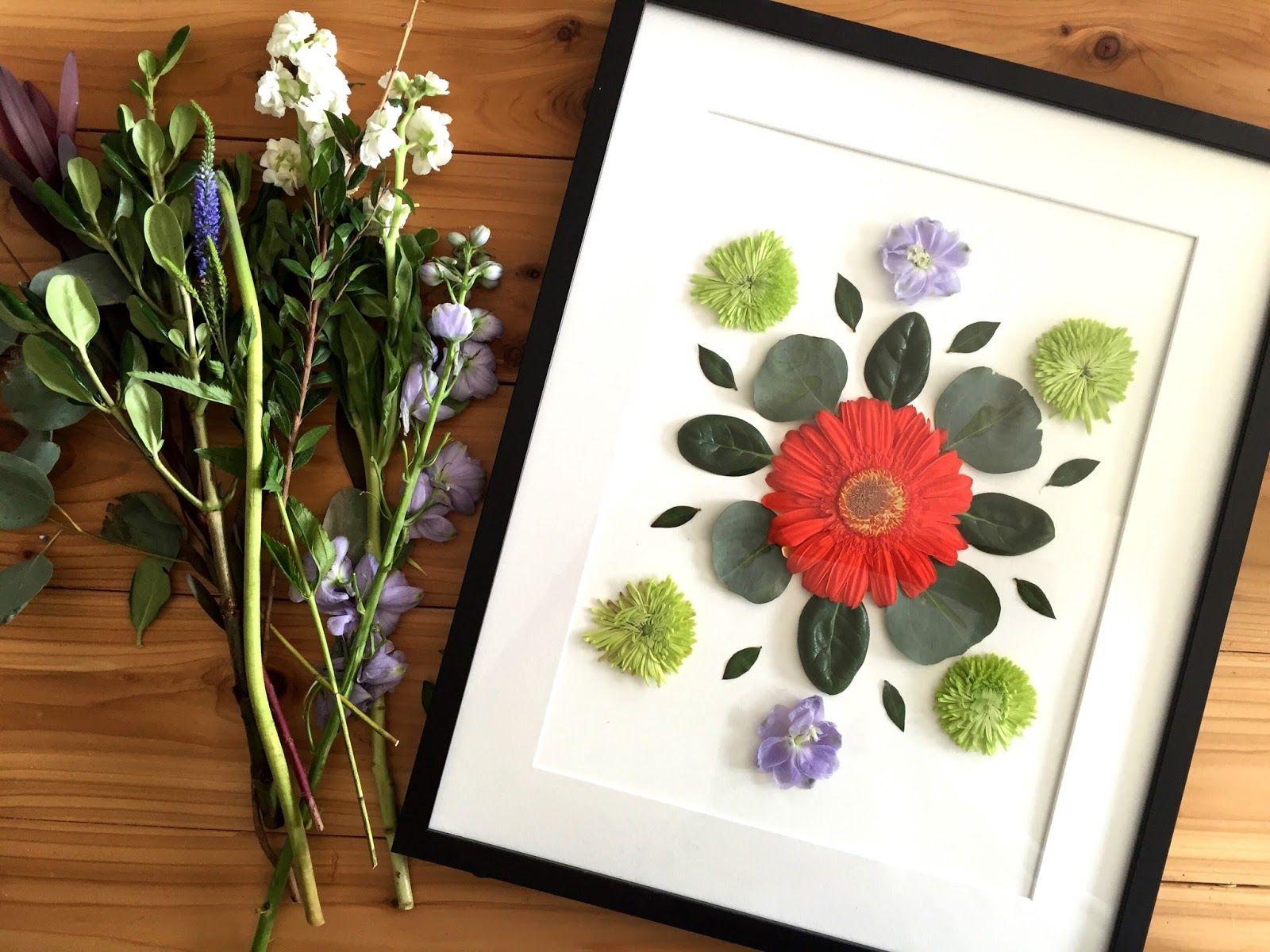 Diy floral art the urban acres to do diy pinterest diy and