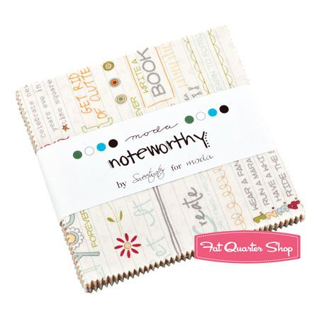 Noteworthy Charm Pack Sweetwater for Moda Fabrics