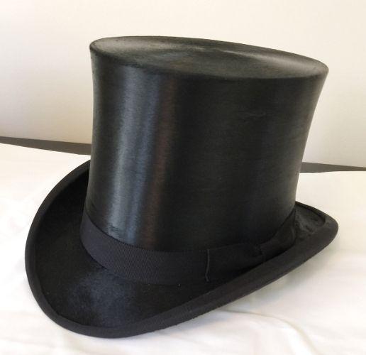 Antique silk top hat  3835aabbb47