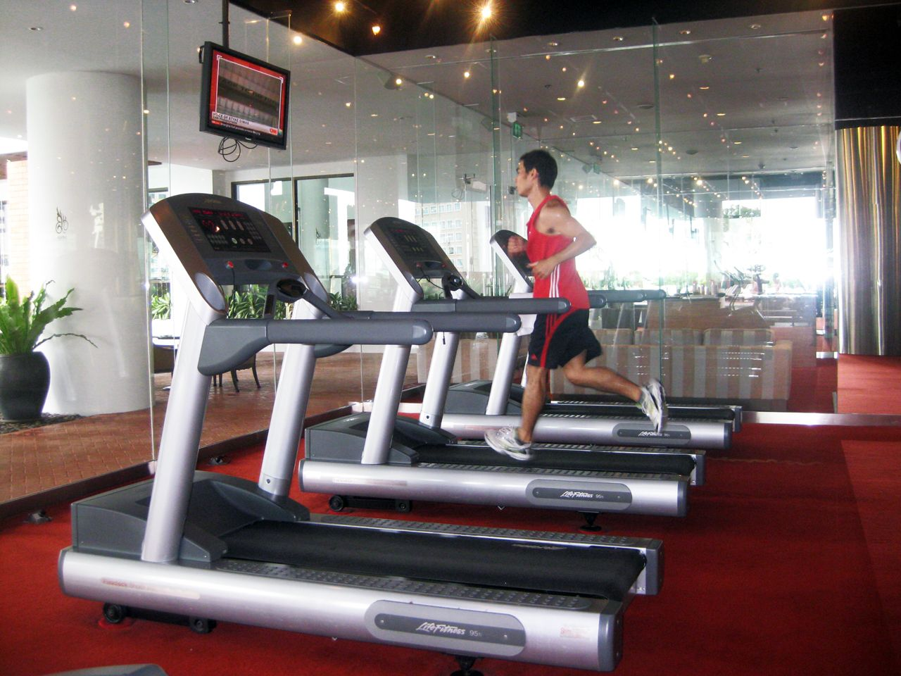 Fitness Center - lebua at State Tower