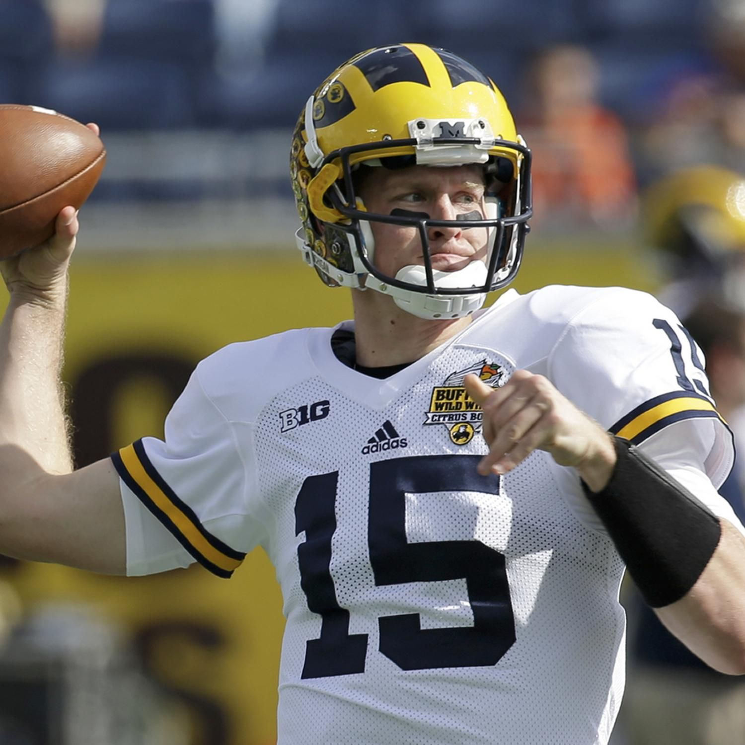 Michigan Pro Day 2016 Recap Results For Jake Rudock Graham