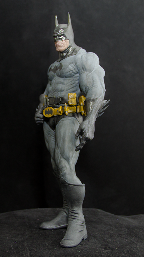 "BATMAN 6/"" ACTION FIGURE on One Of A Kind Comic Issue No.1 Custom Design Display"