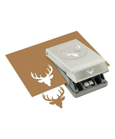 Loving this Deer Head Hole Punch on #zulily! #zulilyfinds