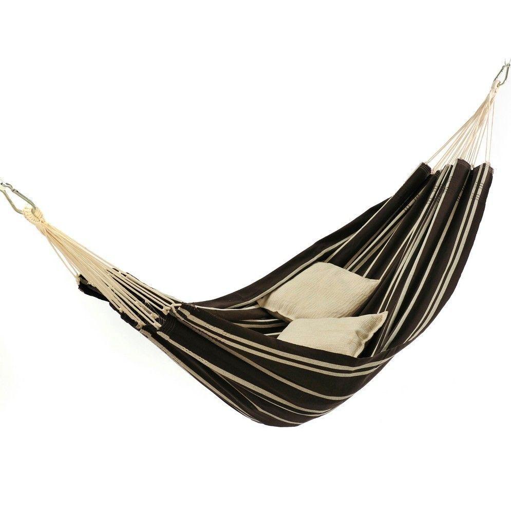 Non spreader bar hammock extra large mocha color